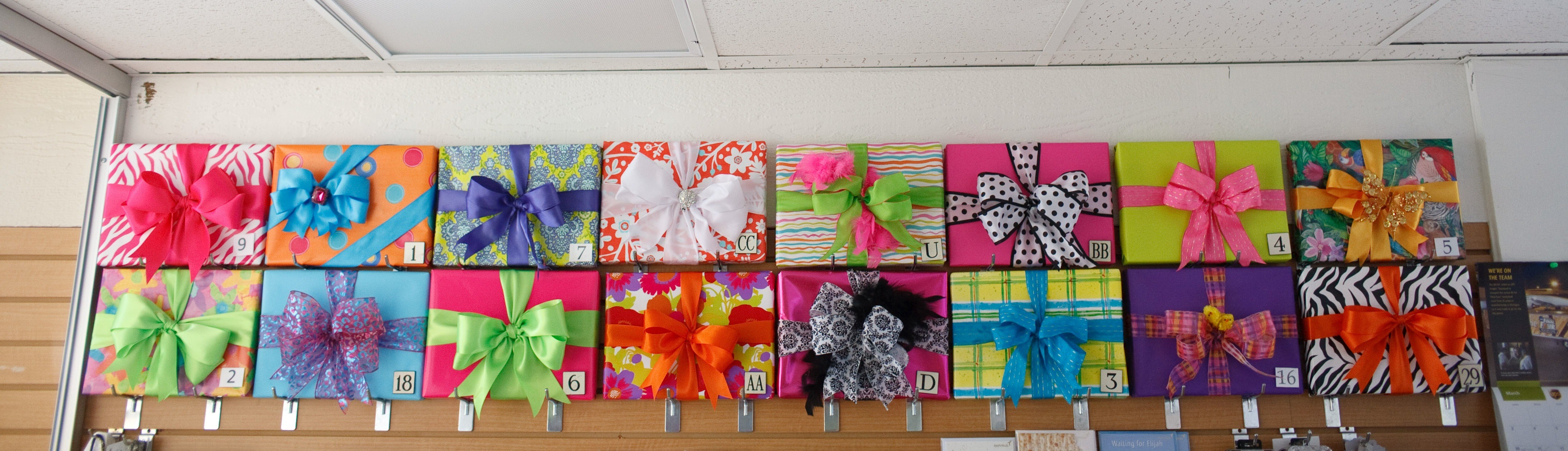 Header image for Gift Wrapping page